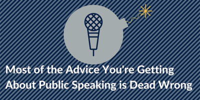 [Case Study] #1 Reason Why People BOMB With Public Speaking
