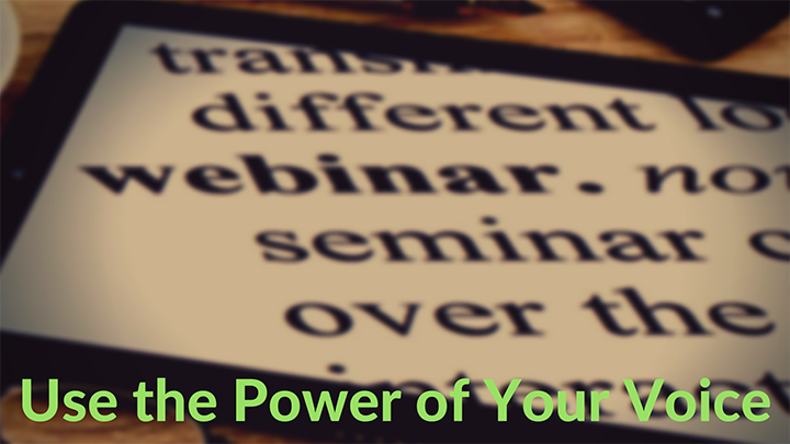 communicate effectively during a webinar