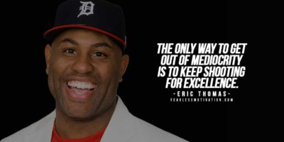Eric Thomas: The Motivational Speaker that'll get you inspired!